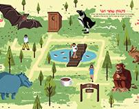 Biblical Zoo Map