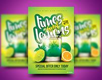 Limes and Lemons Flyer