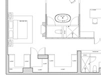 Drafting New York Apartment
