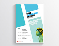 New Museum Exhibitions Poster