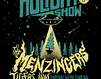 The Menzingers' Holiday Show Posters