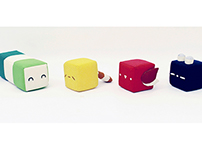 Aminimal Plush Toys