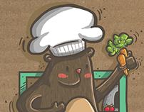 El Chef Grizzly y El Fantástico Sándwich de Pollo
