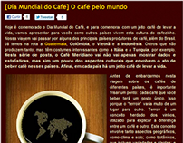 Série de posts: Dia Mundial do Café