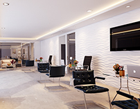 Interior design for Office lobby