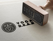 Yoga Bear Studio Branding