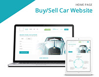 Home Page - Car Buy/Sell Website