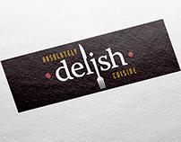 Absolutely Delish Cuisine – Identity Design