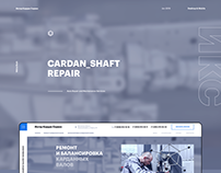 Auto Repair and Maintenance Services / UX / UI