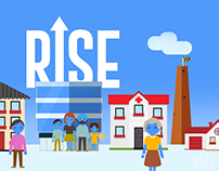 """RISE Baltimore"" Financial model Explainer Animation"