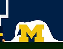 Michigan Indiana Snow Win