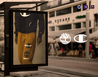 Timberland & Champion - Retail Launch Campaign