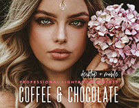 Chocolate Lightroom Mobile presets for photo editing