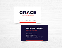 Grace Building - Logo Design
