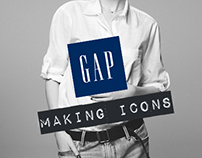 """Making Icons"" Gap Campaign"