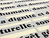 Dictionnaire affiché