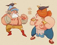 Gnome fight