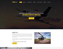 Aeroplan Maintenance Website Design