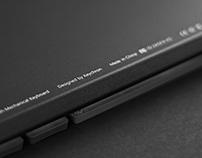 keychron keyboard • product photography