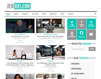 Website Redesign | JenDeLeon.com