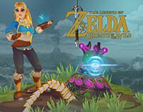 "Princess Zelda ""Breath of the Wild"""