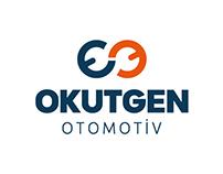Okutgen automotive logo design