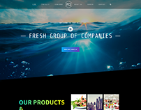 Wordpress Website for Fresh Group