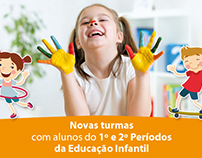 Anúncios para o Centro de Estudo de Idiomas