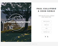 24/7 Home Inspection Website