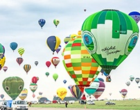 Time lapse Mondial Air Ballons 2017