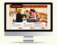 Hayes Day School Website Design