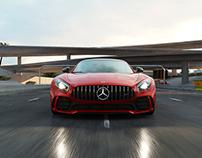 Mercedes AMG GTR - CGI