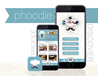 Phoodie -App UI Concept Submission
