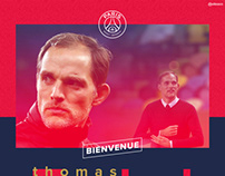 Thomas Tuchel - PSG new manager
