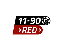 11-90 RED Rebrand Identity