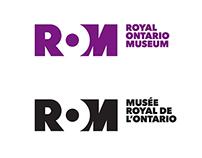 ROYAL ONTARIO MUSEUM - Identity Design