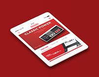 Nintendo App Design // UX/UI App Concept