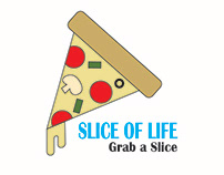 Pizza Logo - Adobe Illustrator Project 1