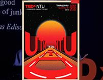 TEDxNTU 2019 Poster - Viewpoints