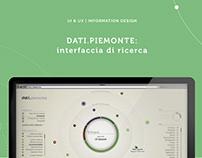 DATI.PIEMONTE: experimental search interface