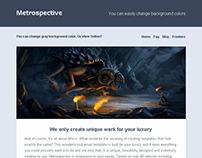 METROSPECTIVE Modern Email Template + Online Builder