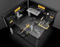 Pirelli stand design