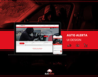 Auto Alerta - UI Design