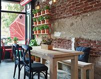 Red Bird cafe & Restaurant Interiors shoot
