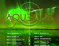 AQUEOUS – 2016 Tour art