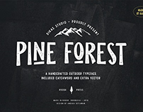 Pine Forest - FREE FONT