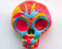 Skulls - illustrations