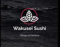 Wakuseï Sushi, design de borne interactive