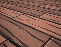 Wooden Stylized Tilling Texture