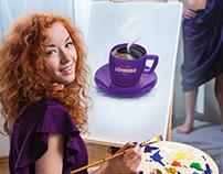 Logbergs Think Violet Ad Campaign